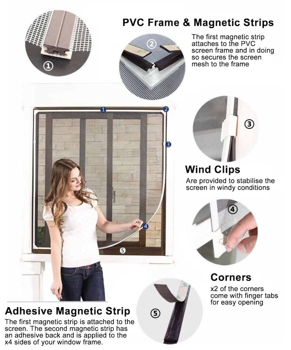 magnetic flyscreen where to buy Abbeywood
